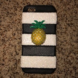 Striped Pineapple  iPhone SE/5/5s Case